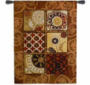 Suzani Spice | 60 x 44 | Woven Tapestry
