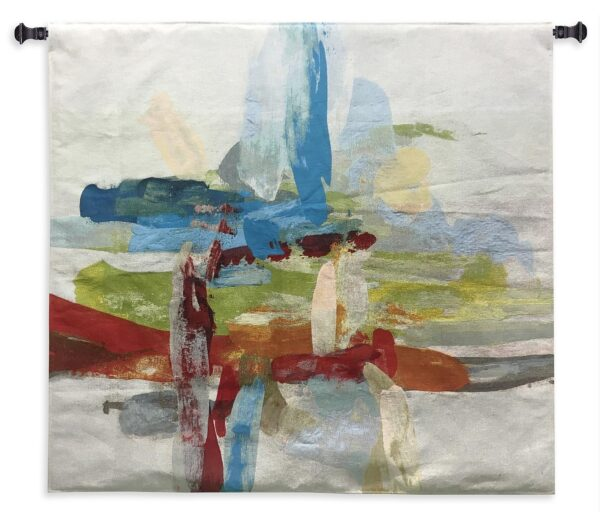 Synergy I | Large Abstract Woven Art Tapestry | 53 x 53
