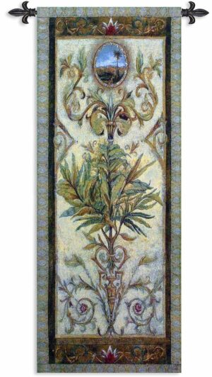 """Textured View I   24"""" x 53""""   Tapestry Wall Decor"""