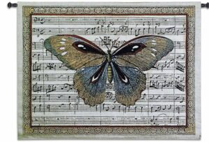 "The Butterfly Dance I | 53"" x 41"" 