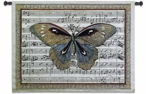 Butterfly Dance I Tapestry