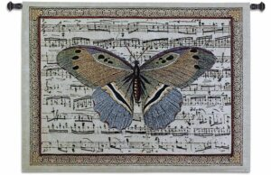 Butterfly Dance II Tapestry
