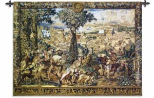 "The Hunts of Maximilian | 80"" x 53"" 