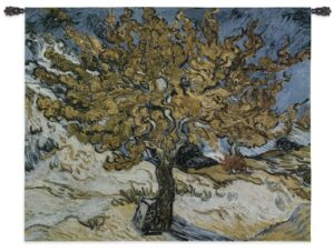 The Mulberry Tree by van Gogh   Art Tapestry   44 x 53