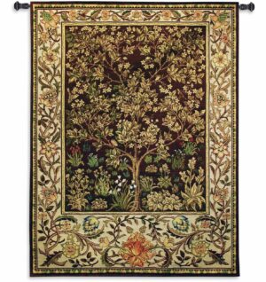 "Tree of Life Umber | 53"" x 79"" 