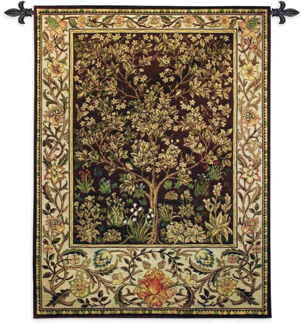 "Tree of Life Umber | 40"" x 53"" 