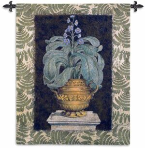 Tropical Urn I Large   66 x 52   Woven Tapestry Decor