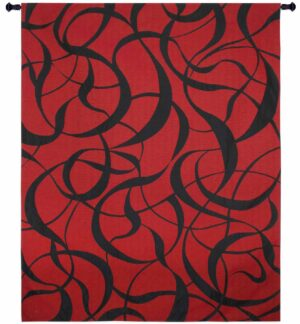 Twists And Turns Fireball | 52 x 63 | Tapestry