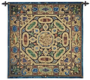 Verona | Woven Contemporary Patterned Tapestry | 52 x 52