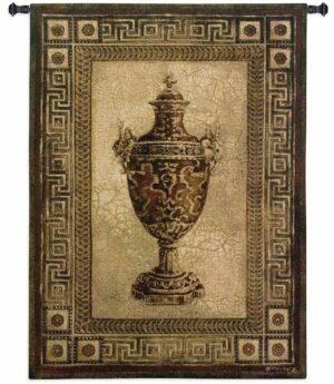 Vessel Of Antiquity I Large | 53 x 54 | Woven Tapestry Decor