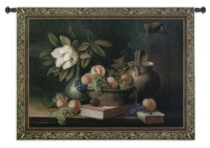 Vianchies Grapes Still Life | Large Wall Tapestry | 53 x 76