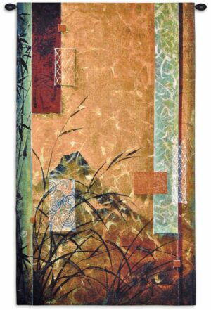 Volcanic Bamboo | 30 x 50 | Woven Tapestry