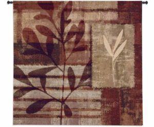 Warm Impressions | 44 by 44 | Woven Hanging Tapestry