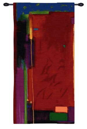 Weekend Colors | Woven Abstract Tapestry | 60 x 30