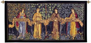 William Morris' The Orchard   100 x 50   Woven Tapestry Decor