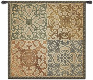 "Wrought Iron Elegance | 53"" x 53"" 