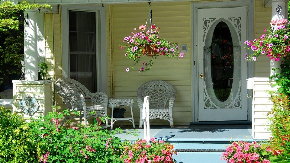 Add Hanging & Potted Plants