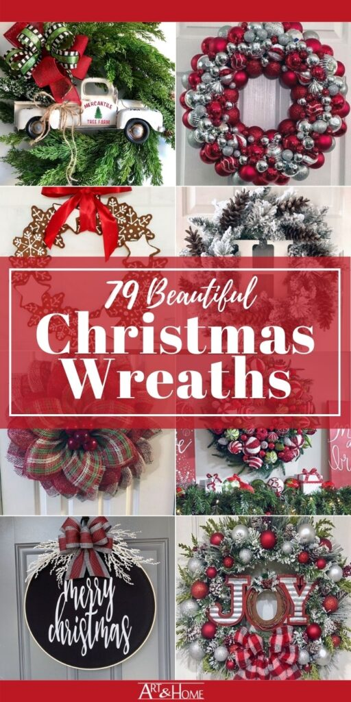 79 Beautiful Christmas Wreaths