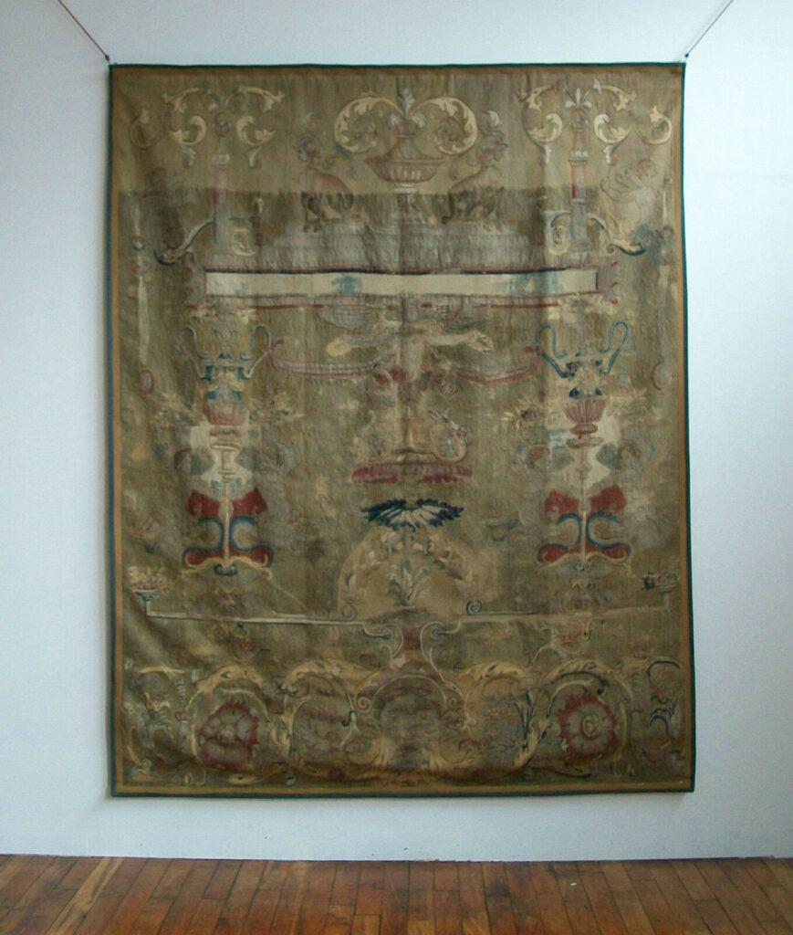Antique Tapestry Cost Example