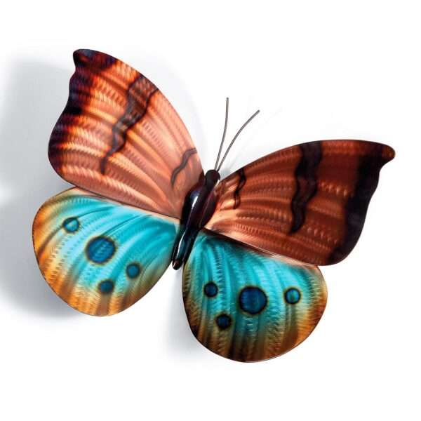 Brilliant Butterflies Metal Wall Art Option 1