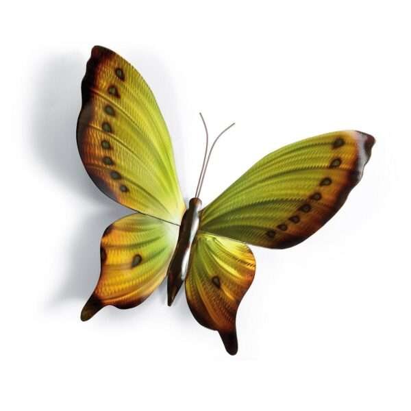 Brilliant Butterflies Metal Wall Art Option 2