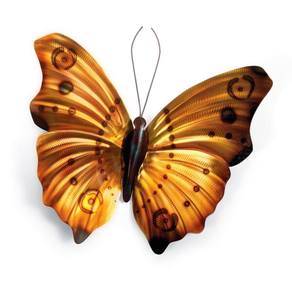 Brilliant Butterflies Metal Wall Art Option 3