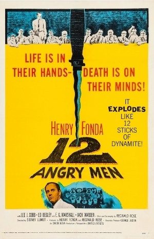 Classic Movie Poster - 12 Angry Men (1957)