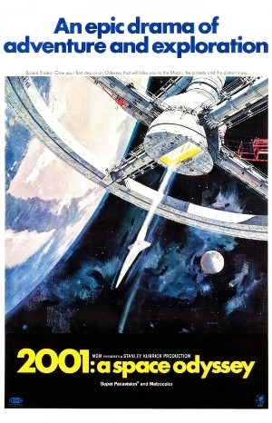 Classic Movie Poster - 2001: A Space Odyssey (1968)