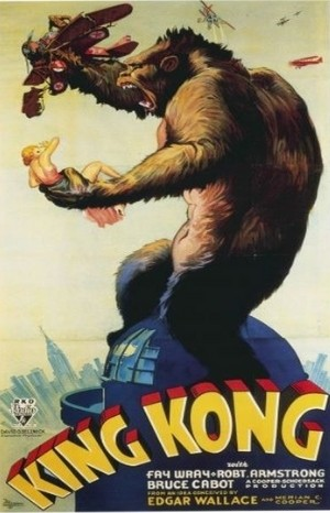 Classic Movie Poster - King Kong (1933)