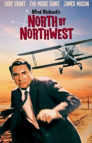 Classic Movie Poster - North by Northwest