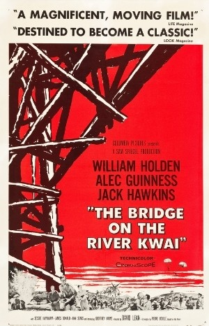 Classic Movie Poster - The Bridge on the River Kwai