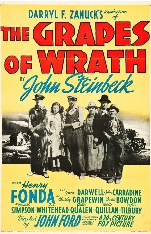 Classic Movie Poster - The Grapes of Wrath (1940)