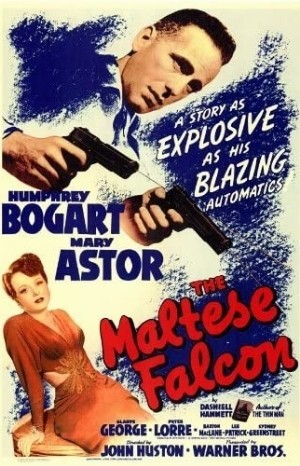 Classic Movie Poster - The Maltese Falcon (1941)