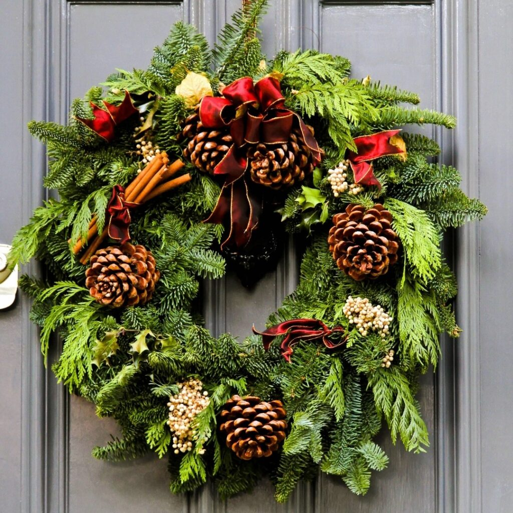 Fresh Accents DIY Christmas Wreath