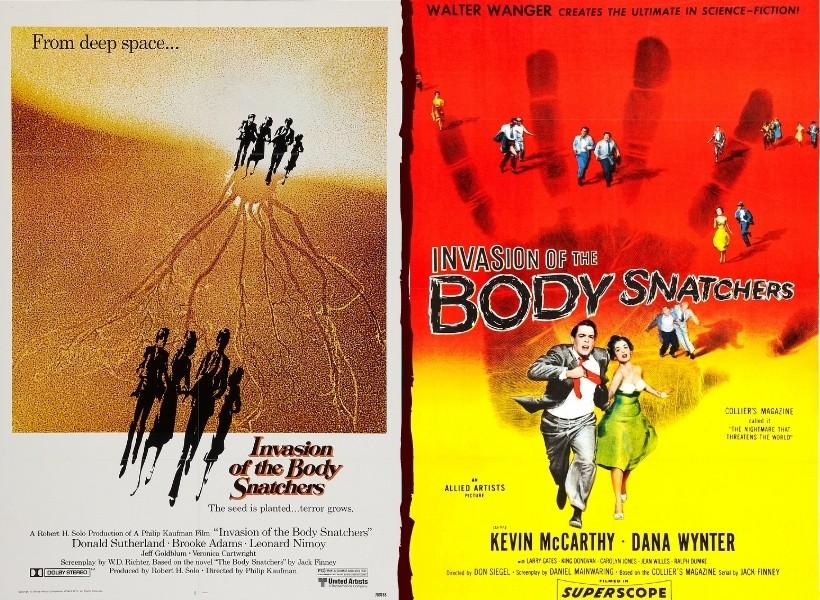 Invasion of the Body Snatchers Original vs Remake