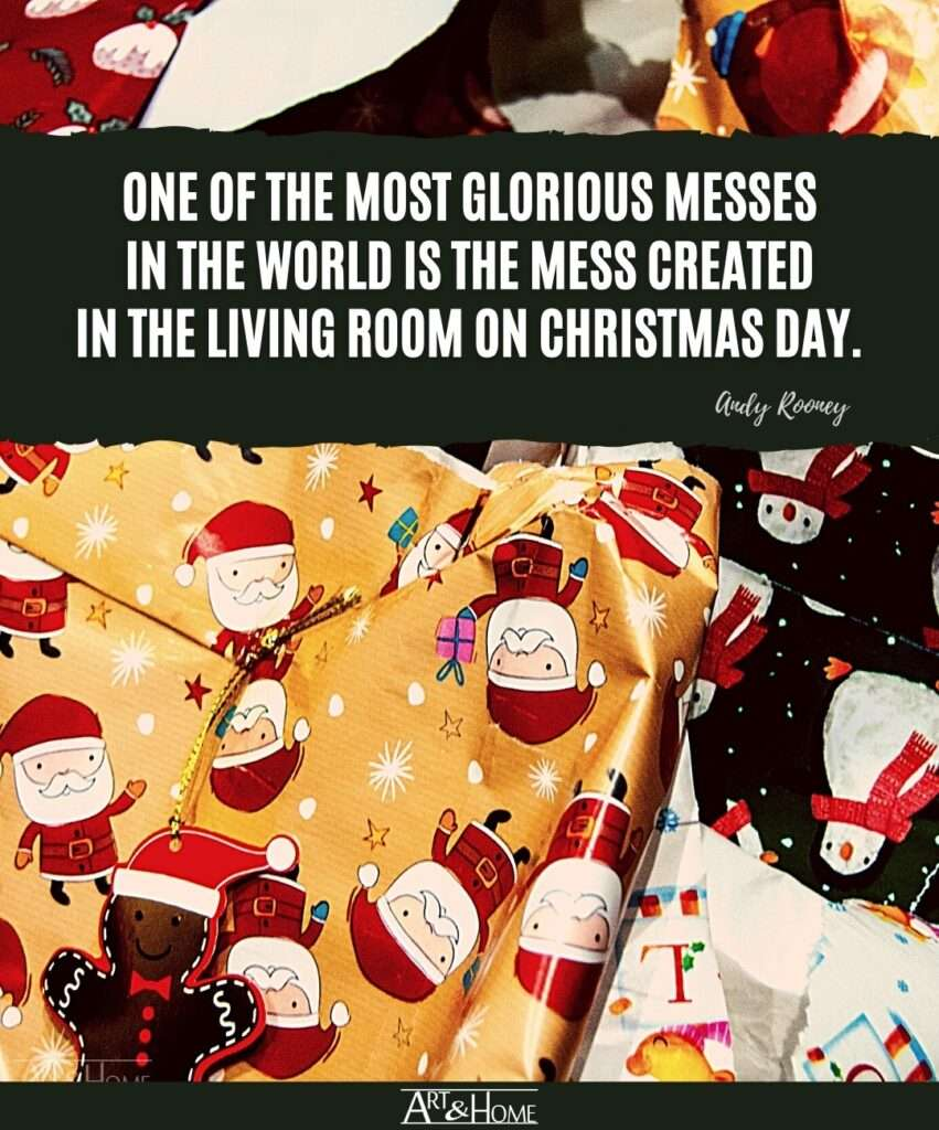 Andy Rooney Christmas Quote