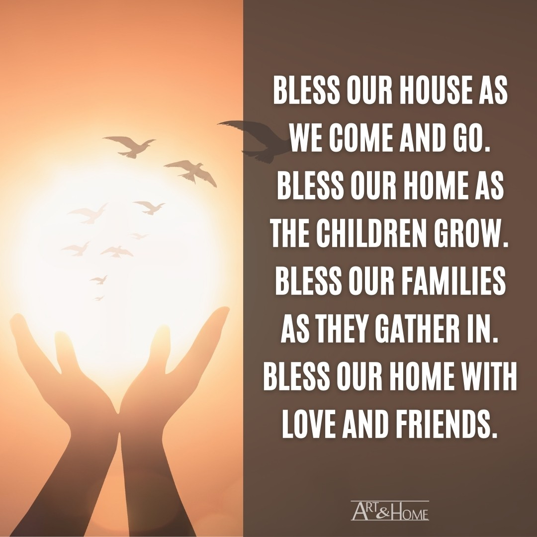 Bless Our House Quote Meme