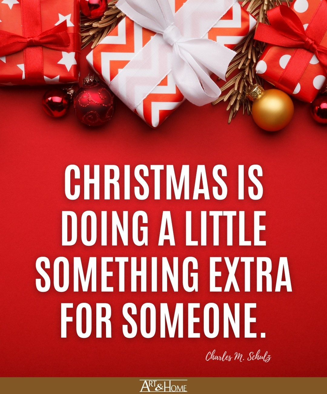 Charles Schulz Quote About Christmas