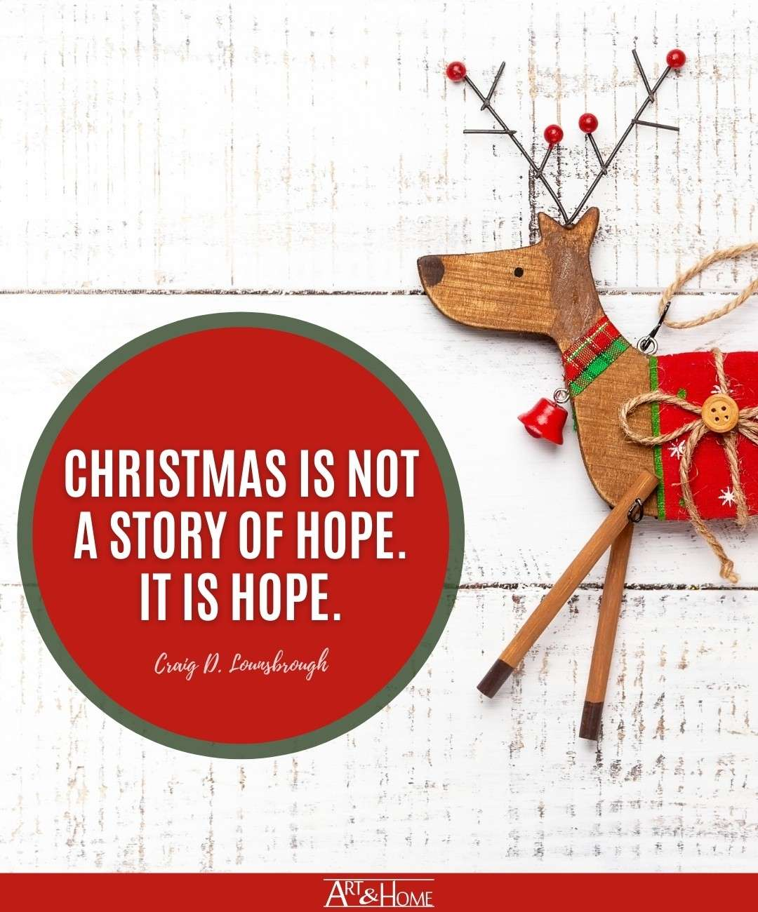 Christmas is Hope Quote
