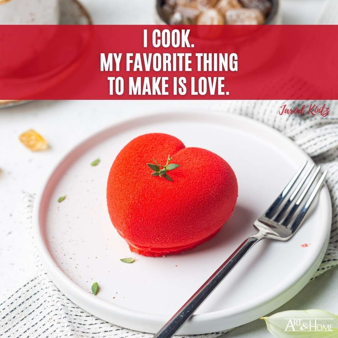 Cooking Love Quote