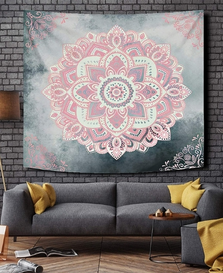 Fabric Wall Hangings - Printed Tapestries