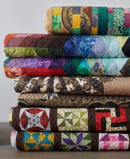 Fabric Wall Hangings - Quilts