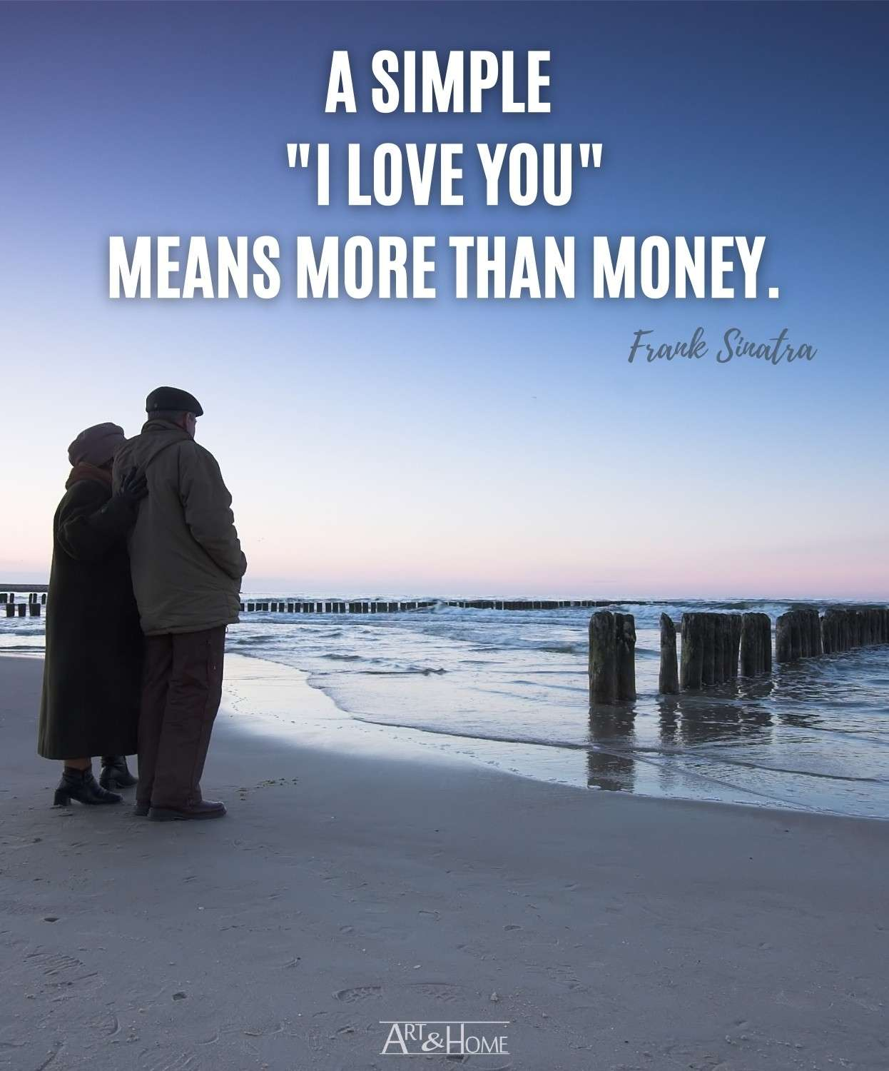 Frank Sinatra I Love You Quote