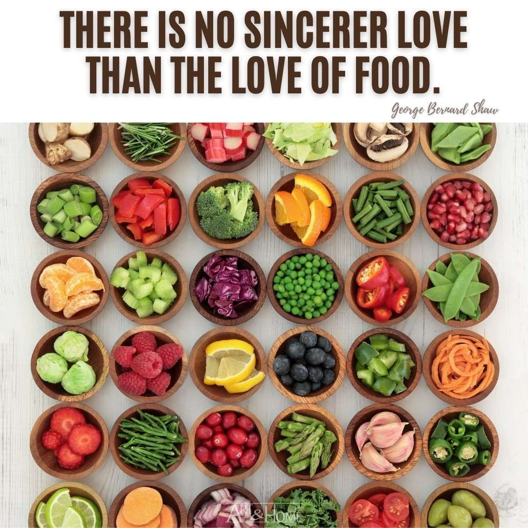 George Bernard Shaw The Love of Food Quote