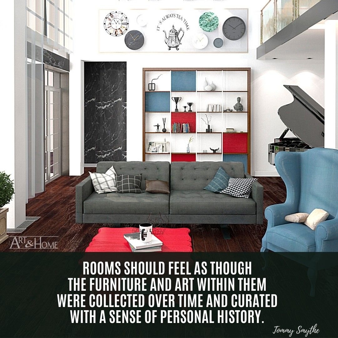Tommy Smythe home decor quote