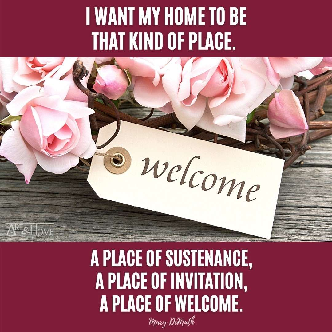 Mary DeMuth Quote Meme about Home