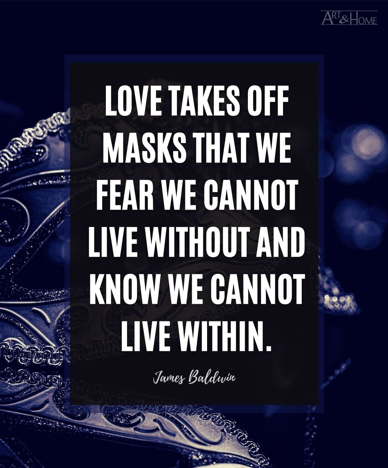 James Baldwin Quote About Love