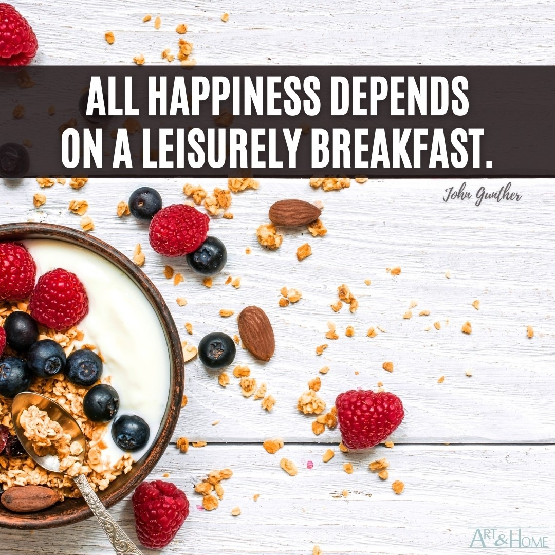 Quote About Breakfast