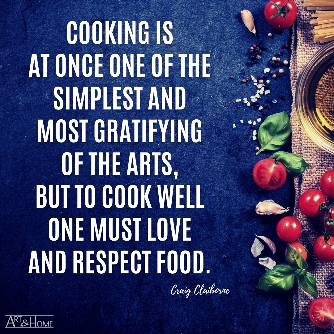 Quote About Respecting Food