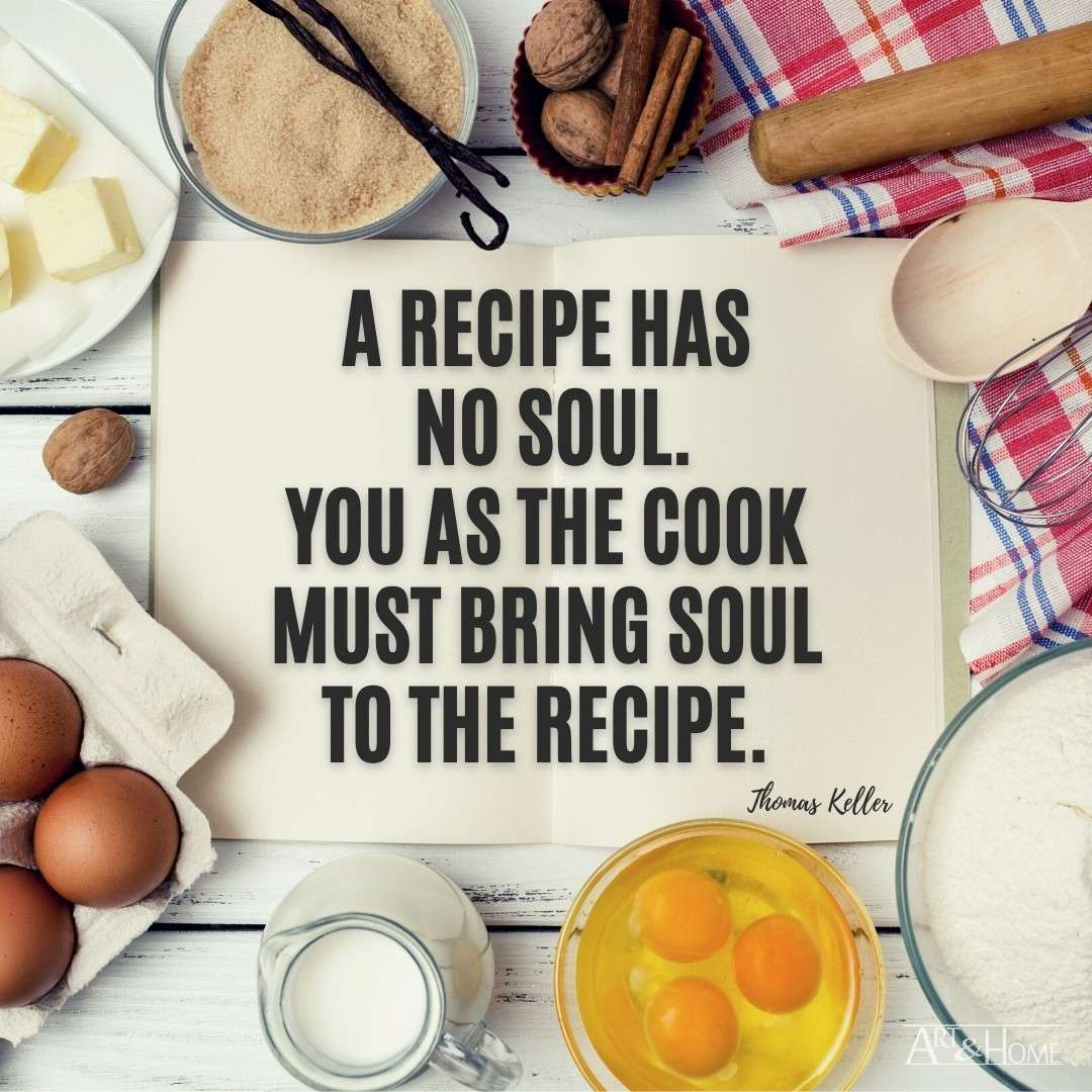 Recipe Soul Cooking Quote